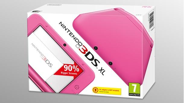 Amazon UK: Pink Nintendo 3DS XL For£66