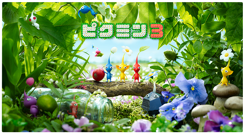 White And Purple Pikmin Now Confirmed For Pikmin 3 My Nintendo News