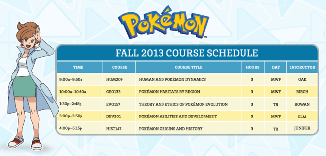 pokemon_course_schedule