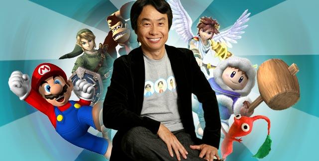 Shigeru Miyamoto à Japan Expo