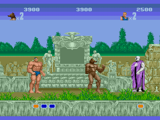 3d altered beast coming to japanese 3ds eshop my for Altered beast