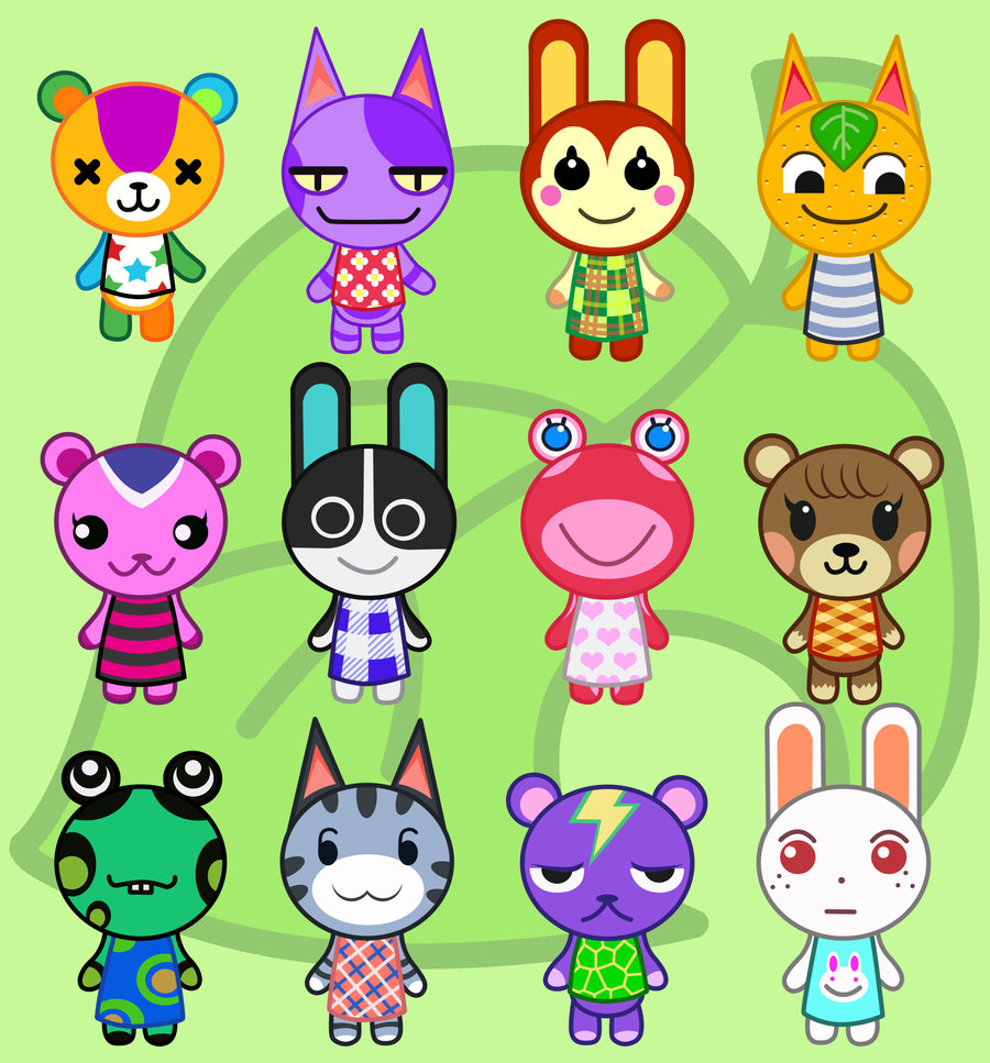 Animal crossing new leaf character profiles sable and for Animal crossing new leaf arredamento