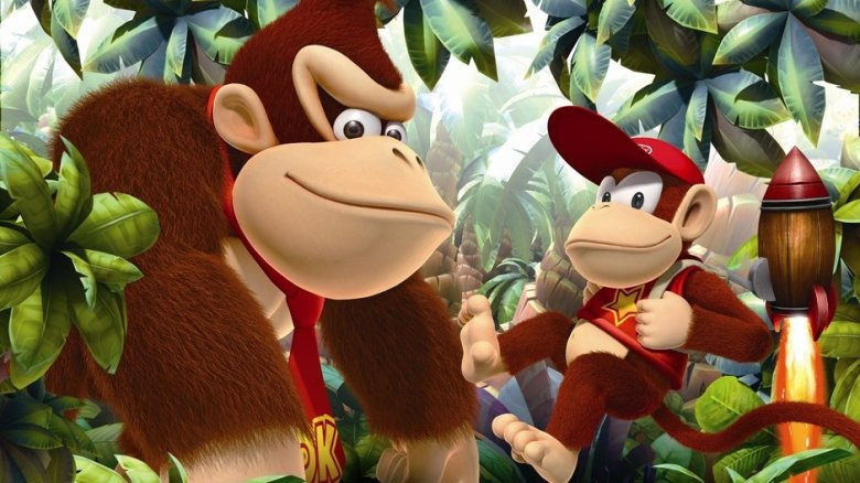 donkey kong country returns 3ds