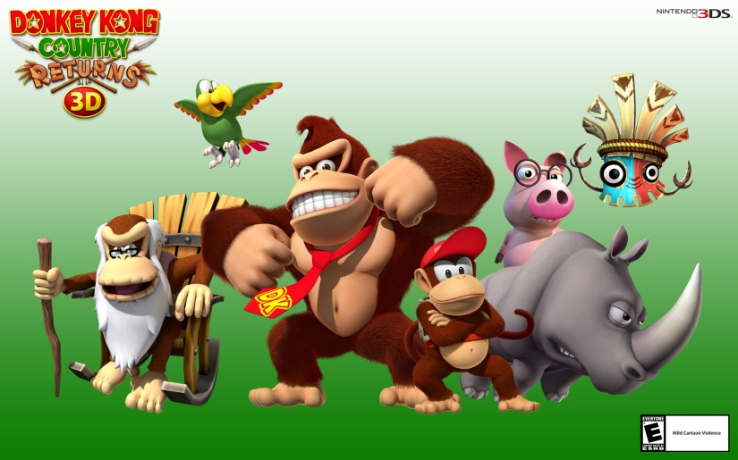 Donkey Kong Producer Teases Possible 2D/3D Donkey Kong Game