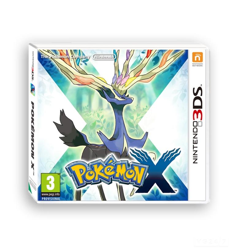 Pokemon version X 3DS