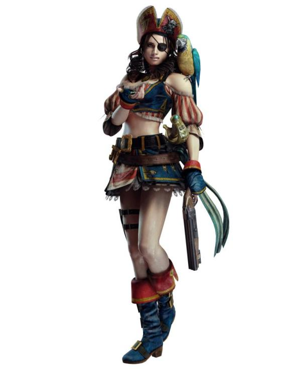 resident evil revelations jill pirate
