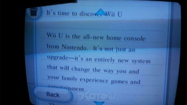 wii message marketing