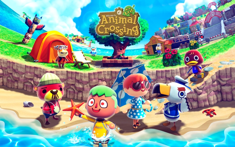 Grab This Animal Crossing: New Leaf 2-Poster Set On US Club Nintendo