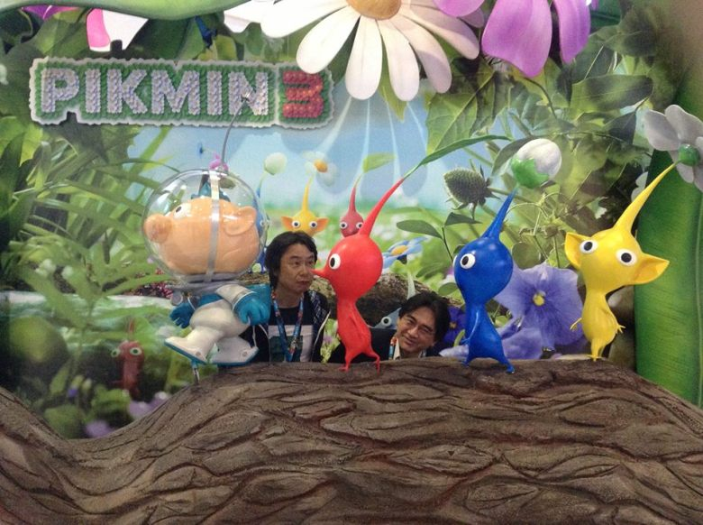 pikmin 3 booth