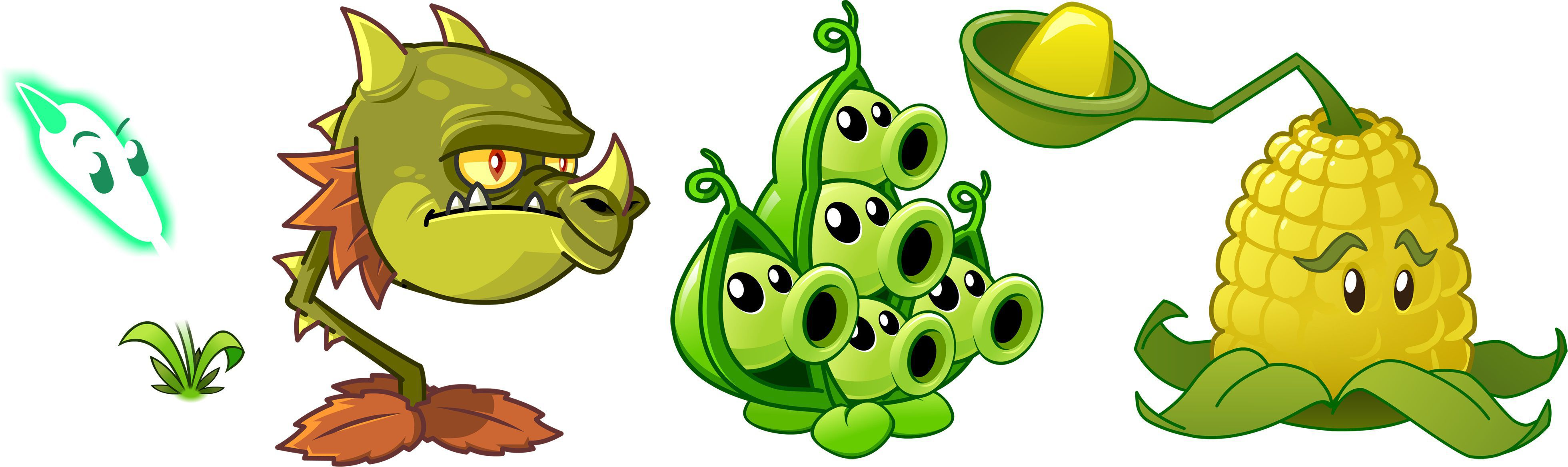 plants from plants vs zombies