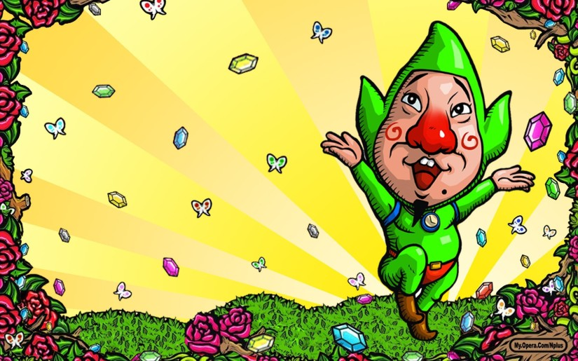 Here's Some Gameplay From The New Hyrule Warriors DLC Featuring Young Link AndTingle