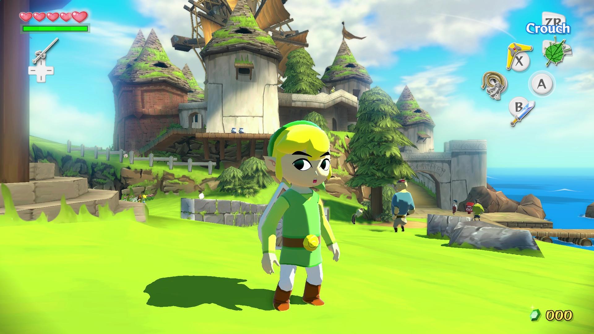 Zelda Wind Waker Cut Dungeons Won't Come To Wind Waker HD