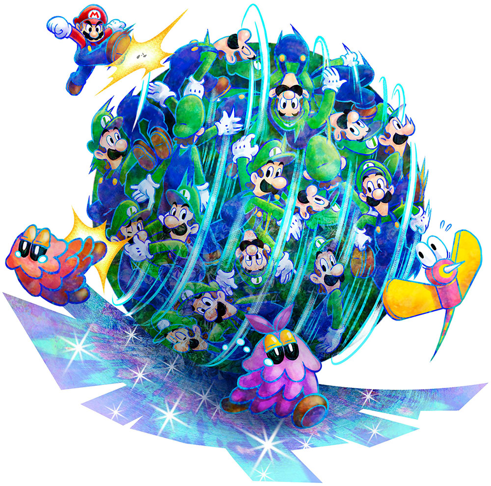 Nintendo Releasing A Patch For Mario Luigi Dream Team In Japan