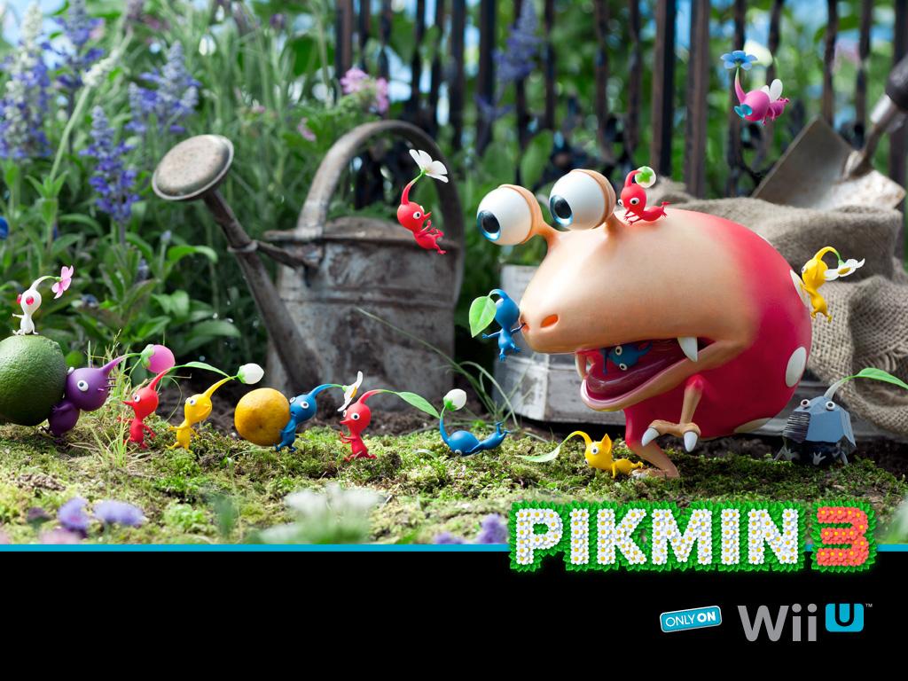 Nintendo Releases DLC Trailer For Pikmin3