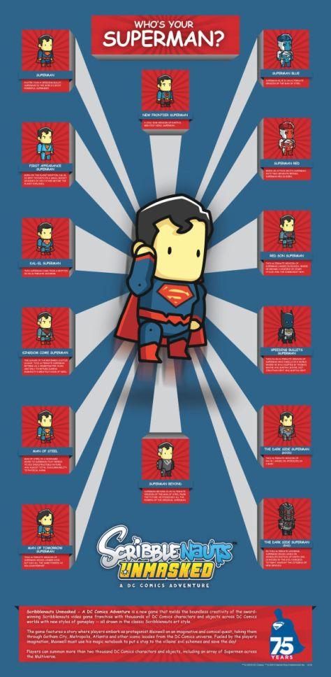 scribblenauts unmasked superman
