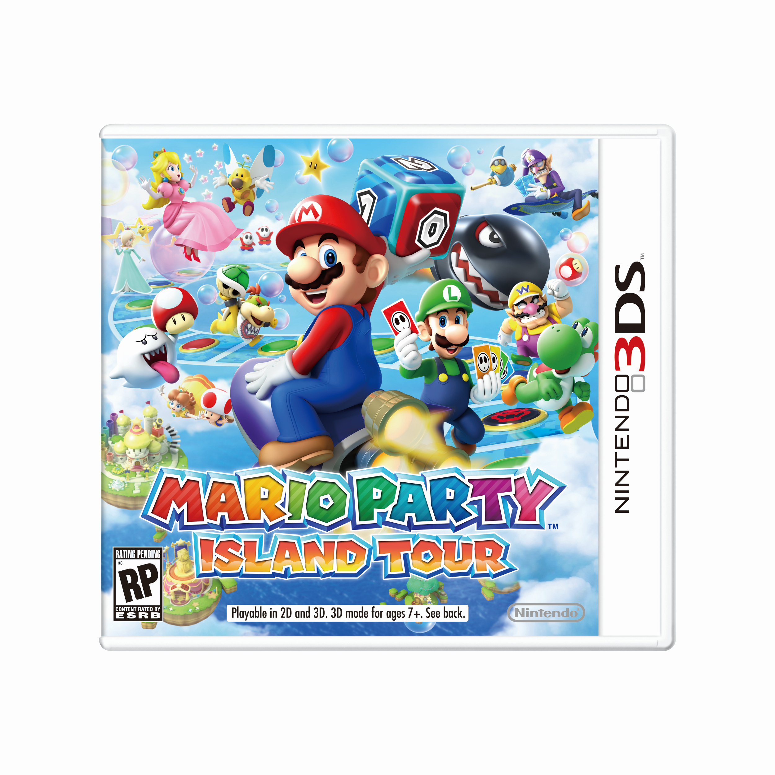mario party island tour for nintendo 2ds 3ds box art and release date my nintendo news. Black Bedroom Furniture Sets. Home Design Ideas
