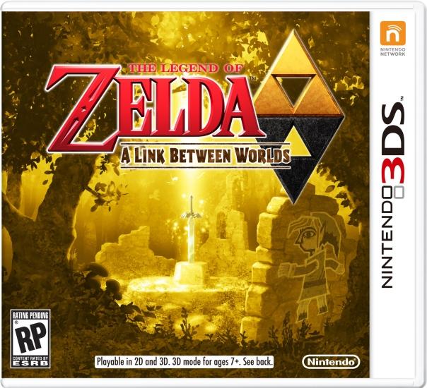 Design de boîte pour The Legend of Zelda : A Link Betweet Worlds dans Actualités