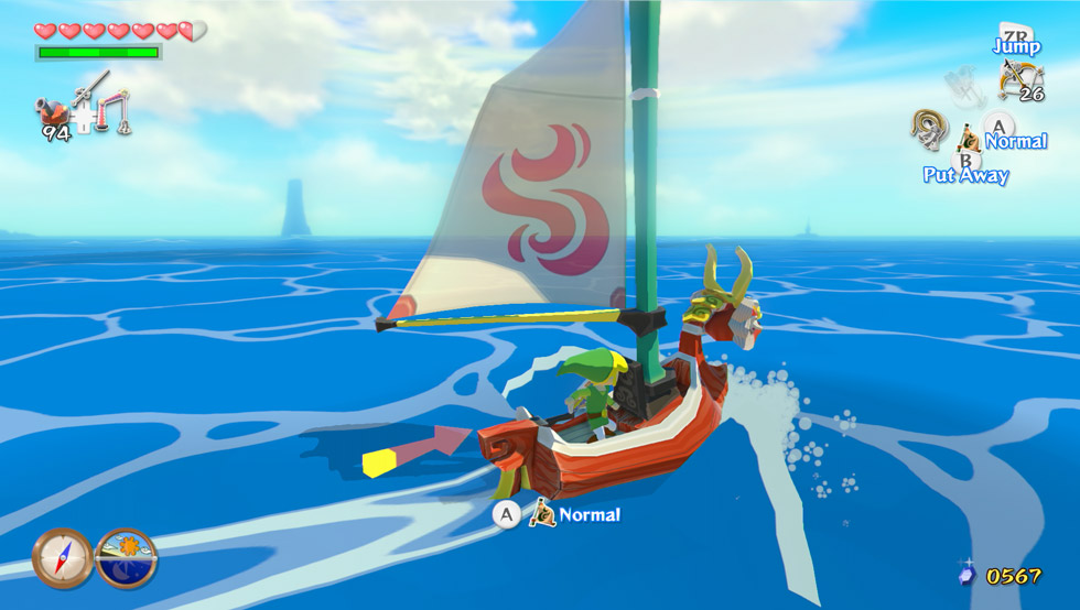 The legend of zelda: the wind waker hd deluxe set (limited.