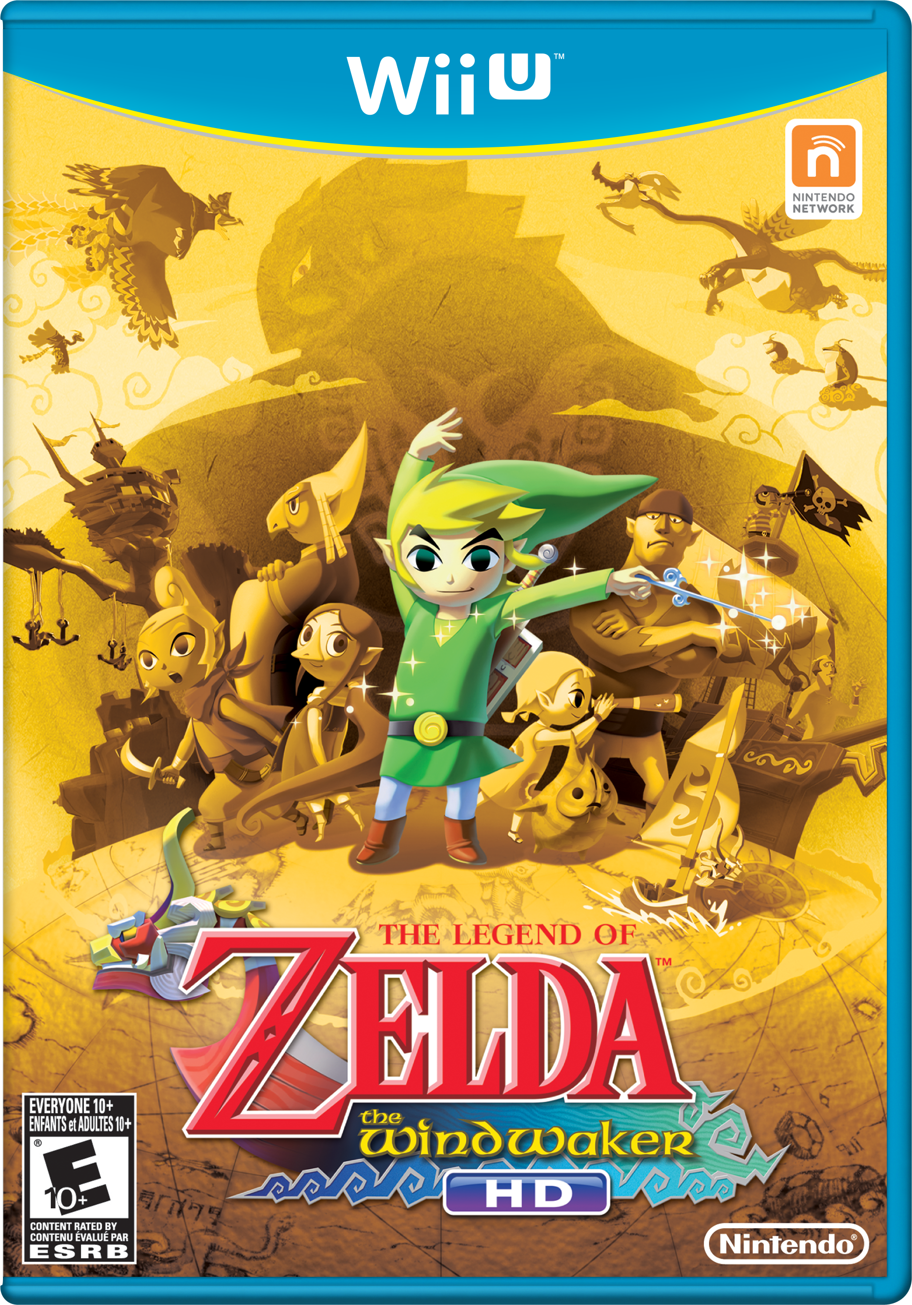 Nintendo Believes That Wind Waker HD Can Be A Wii U System