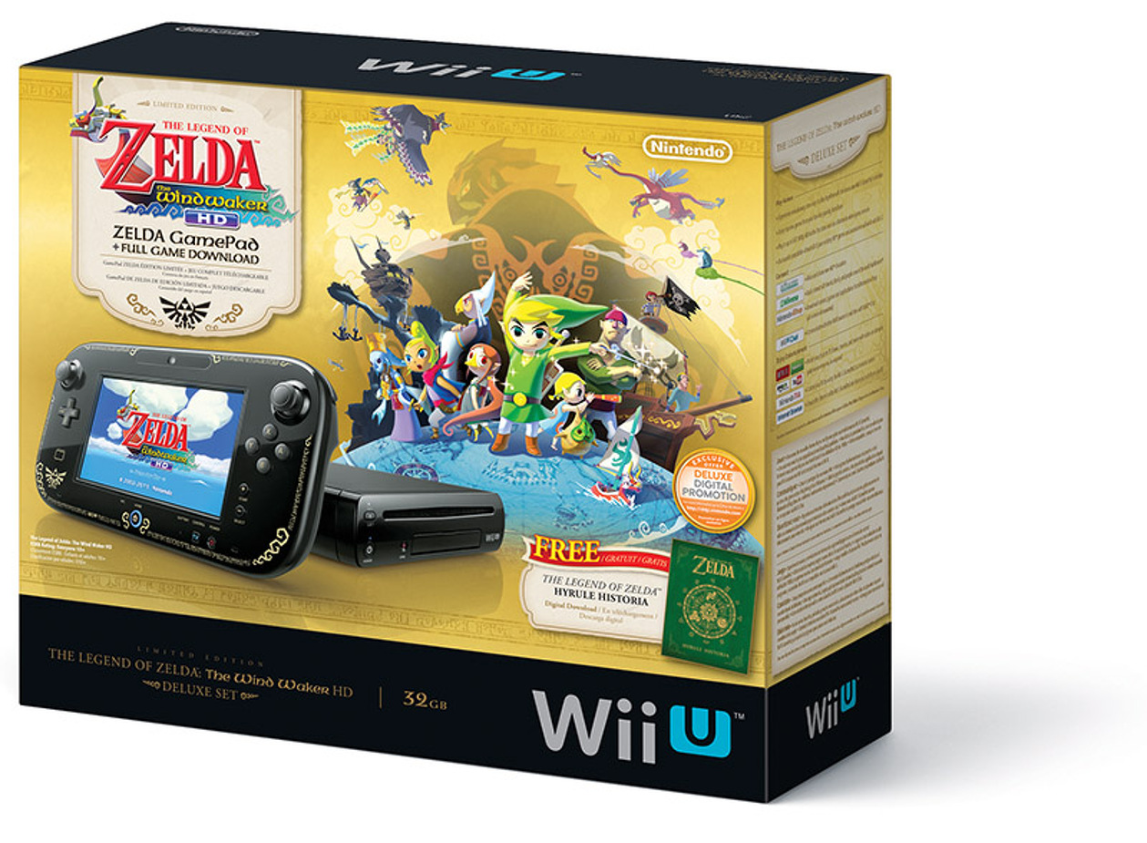 nintendo australia won t be getting the zelda wii u bundle my nintendo news. Black Bedroom Furniture Sets. Home Design Ideas