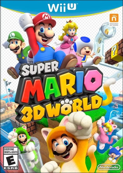 mario 3d world box art