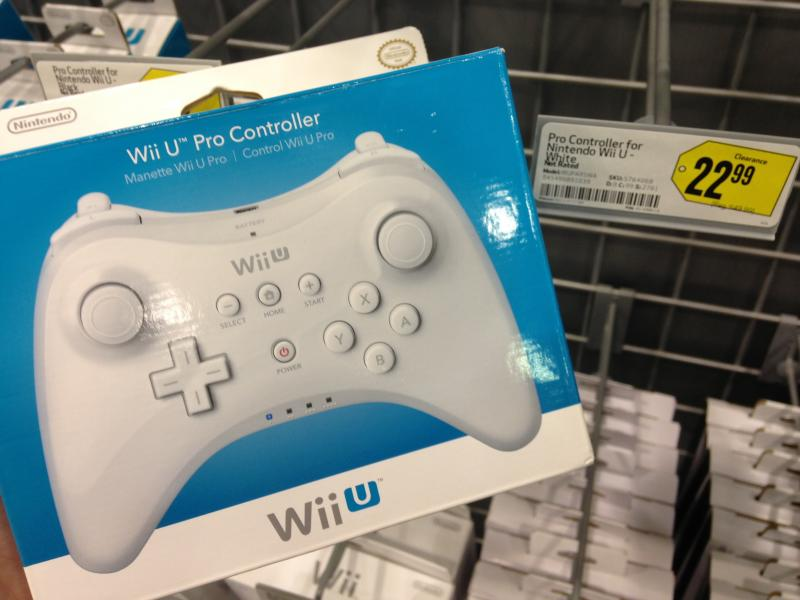 White Wii U Pro Controller Being Phased Out?