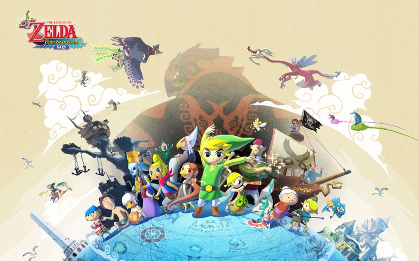 Zelda: The Wind Waker HD's Colorful Box Art Is Now Available In NorthAmerica