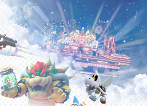 Super Mario 3D World Artwork Detail