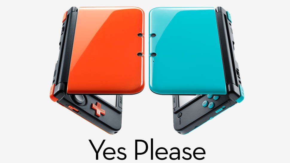 japan gets orange and turquoise limited edition 3ds xl. Black Bedroom Furniture Sets. Home Design Ideas