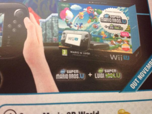 New Super Mario Bros. U + Luigi U Wii U Bundle Apparently Coming November 8th