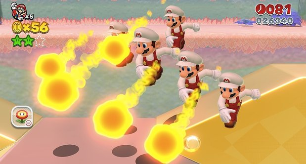 super mario 3d world cherry power up