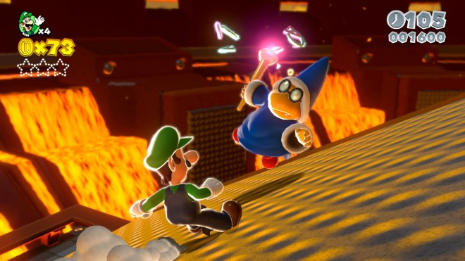 super mario 3d world luigi