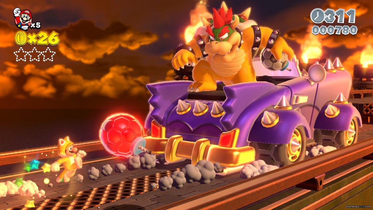 Super Mario 3D World Will Feature Live Orchestral MusicSuper Mario 3d World Final Boss Bowser