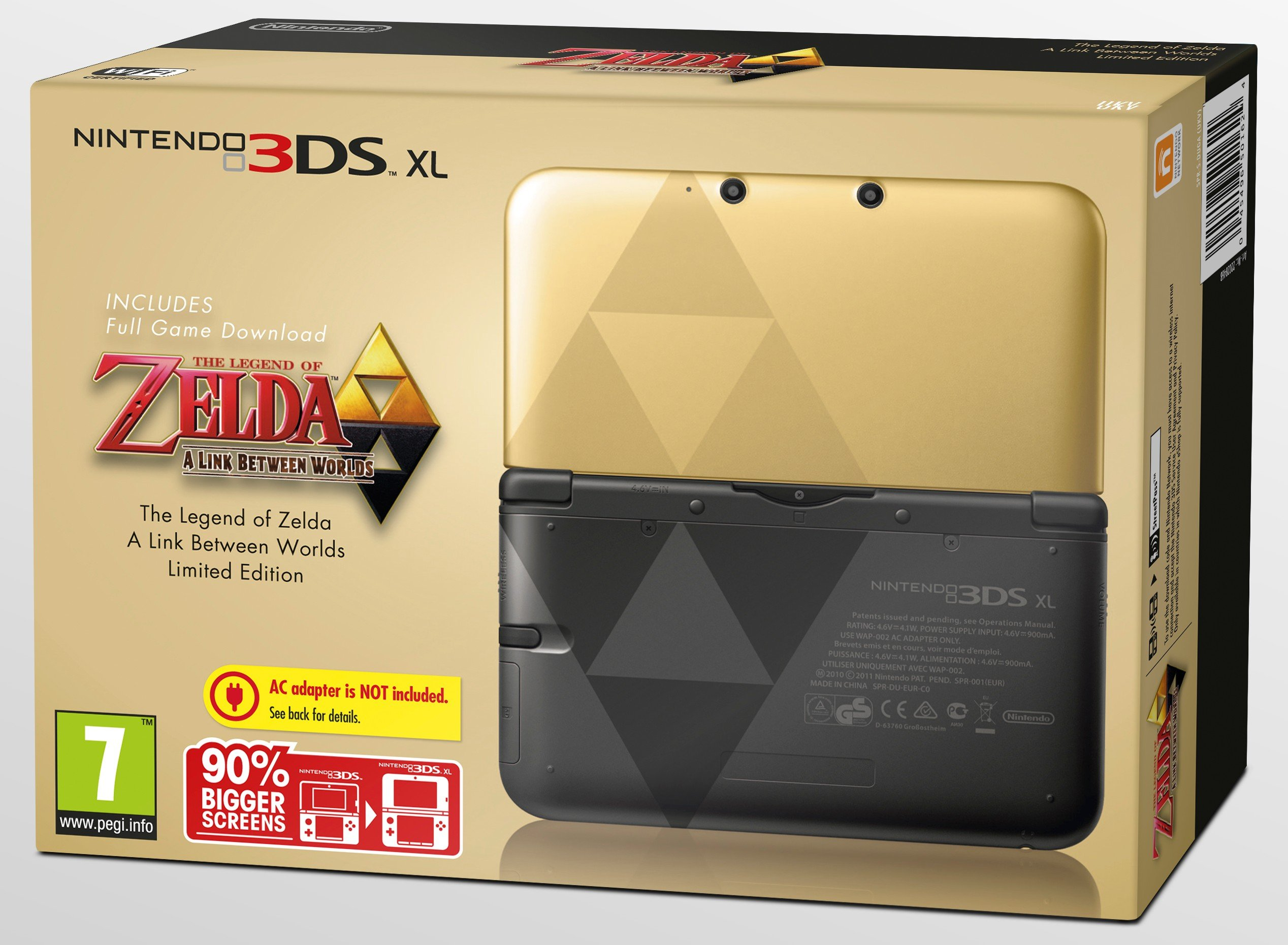 zelda limited edition 3ds xl box art ign boards. Black Bedroom Furniture Sets. Home Design Ideas