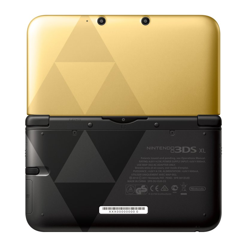 Nintendo America Now Selling Refurbished Zelda Nintendo 3DS XLConsoles