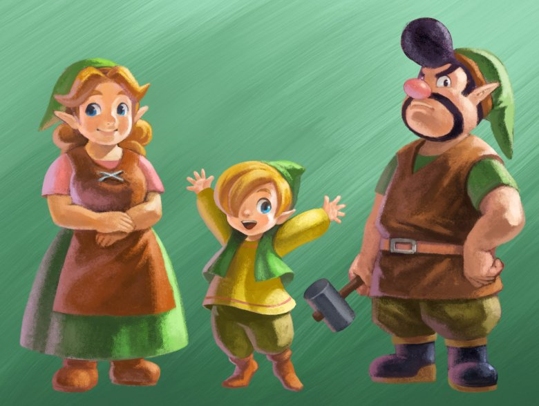 zelda_a_link_between_worlds_parents