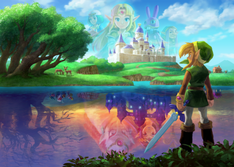 A_Link_Between_Worlds_lorule_hyrule_Artwork