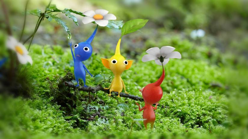 """Shigeru Miyamoto Holding """"Pikmin Spotted"""" Drawing Competition For Art Academy: SketchPadUsers"""