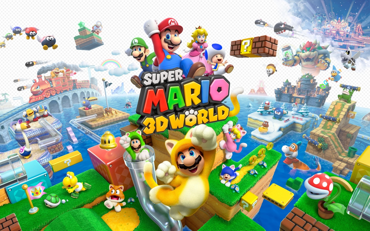 Looks Like Super Mario 3D World Will Be Joining Mario Kart 8 And Getting A Special Red Case