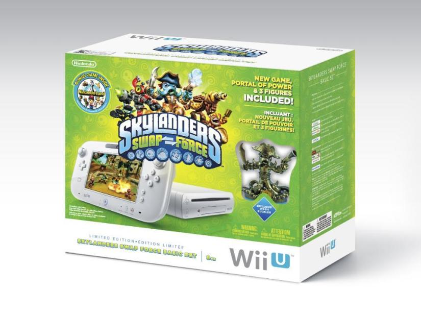 Black Friday: Wii U Skylanders Swap Force Bundle $199.99 At Toys R Us