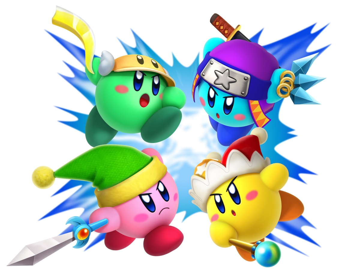 Nintendo Launches Rainbow Coloured Kirby: Triple Deluxe European Website