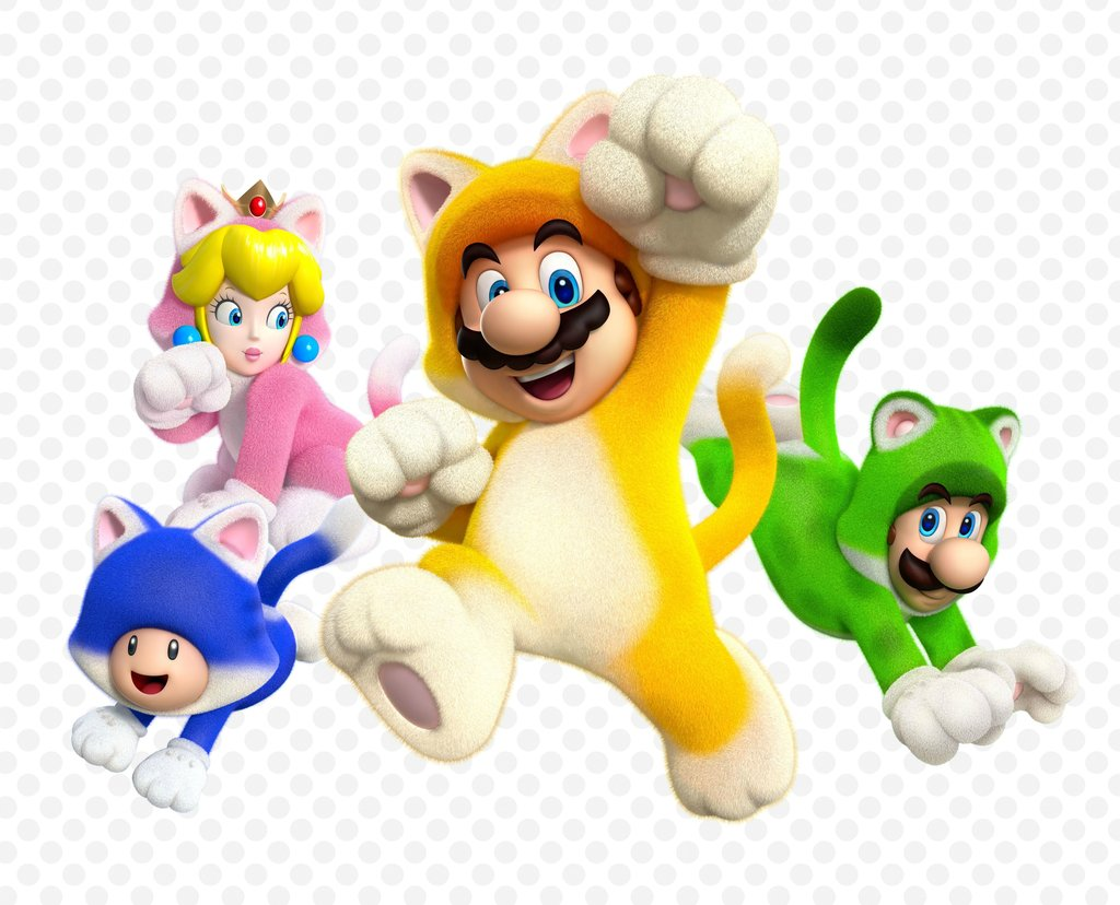 super_mario_3d_world_group_cats