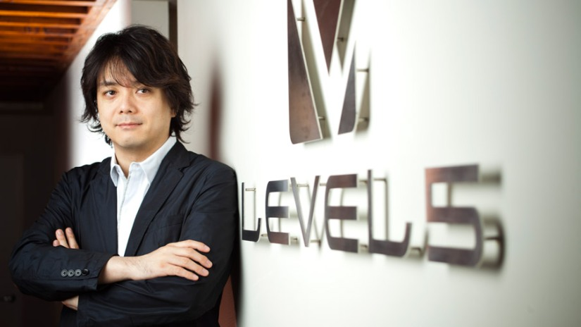 Hino Says He Wants Level 5 To Be More Like Disney
