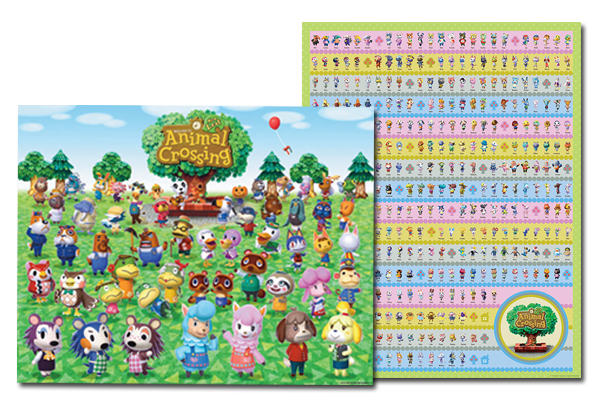 Grab This Animal Crossing: New Leaf 2-Poster Set On US