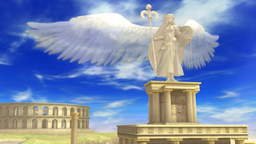 Latest Super Smash Bros Wii U Screenshot Shows Palutena Statue In Unseen Stage