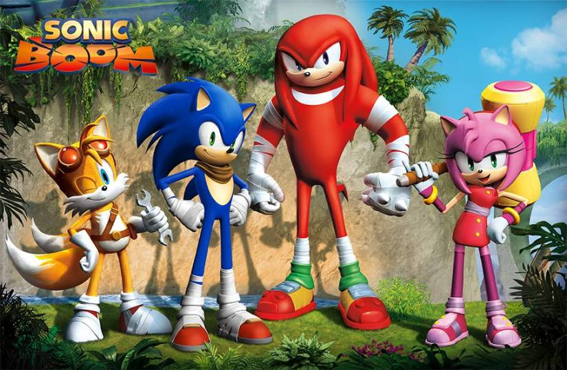 Sonic Team Weren't Keen On The Original Sonic Boom Designs