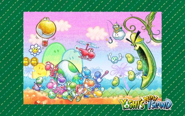 yoshi_new_island_wallpaper