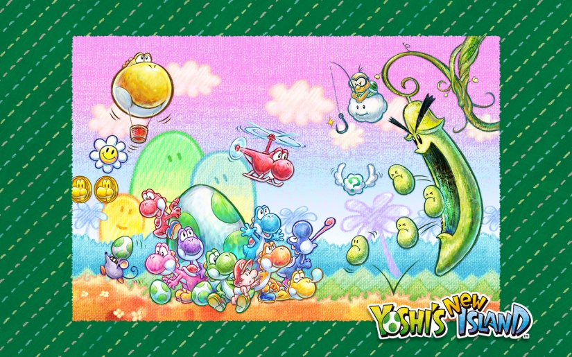 Here's The US Yoshi's New IslandCommercial