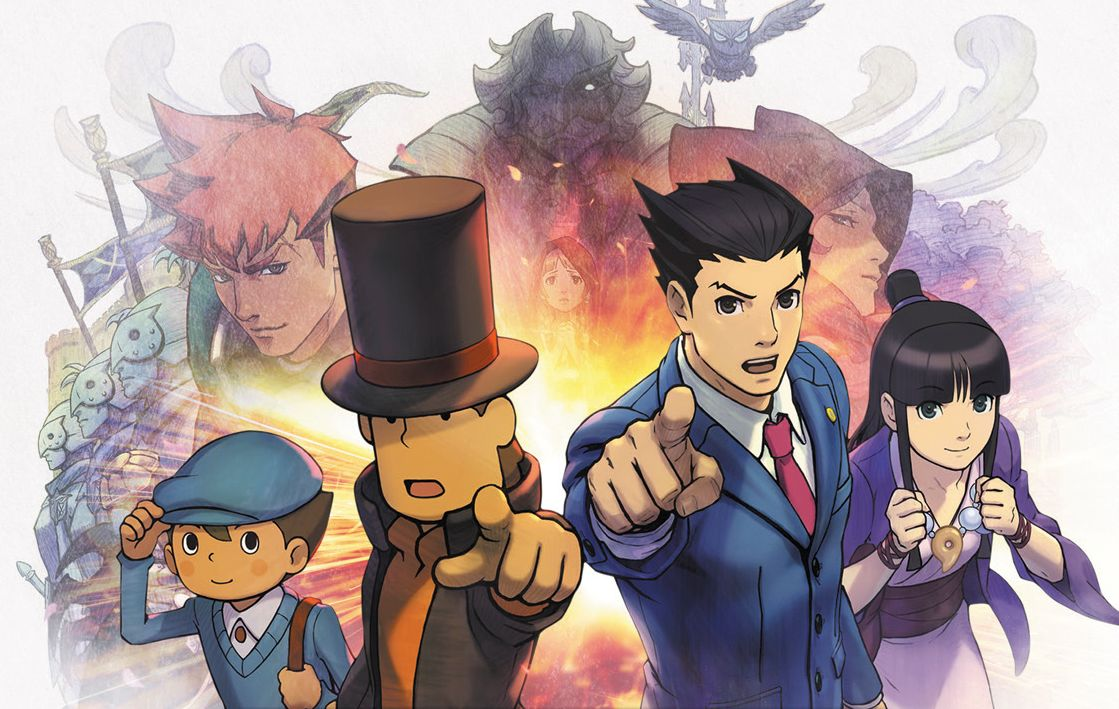 Professor Layton vs Phoenix Wright Will Arrive In North America On August 29