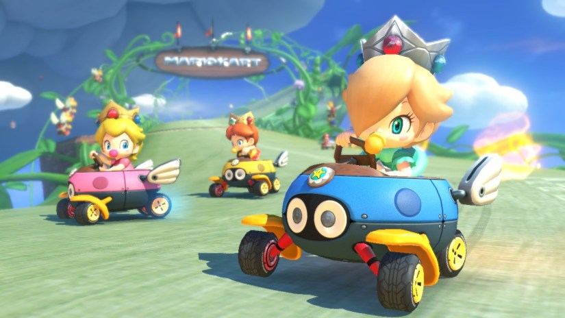 Mario Kart 8 Wii U Download Size Is Only 4.9GB
